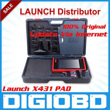 100% Original Professional Car Diagnostic Launch X431 PAD 3G WIFI (update via official website) X-431 Auto Code Scanner