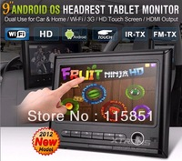 9 inch Touch Screen  Android Headrest