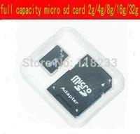 Brand NEW 16GB MICROSD  MICRO SD HC MICROSDHC TF FLASH MEMORY CARD REAL 16GB WITH SD ADAPTER