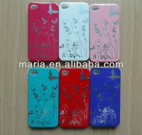 Fashion stamping process PC phone case for iphone 4/4S/5 protection shell