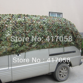 4x4m Hunting Camping Camouflage Netting Military Camo Net Outdor House Cover Sun Shade Sails Birthday Party Ornament Decorations