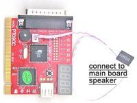PCI&LPC+USB port, 4Bit display PC POST Analyzer card  debug card POST code card test card