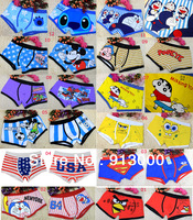 2013 hot sale Promotion Wholesale 12pcs/lot Teenage Men's Sexy Cute Cartoon Underwear shorts Free Shipping