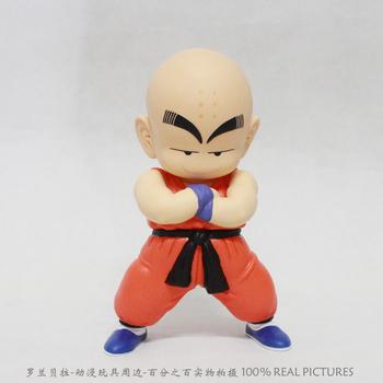 Free Shipping Japanese Anime Dragon Ball Z  Krillin PVC Action Figure Model Toy 17cm DBFG033