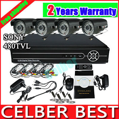 Free shipping, HDMI VGA 4CH H.264 Standalone Security CCTV DVR DDNS 3G Mobile View(China (Mainland))
