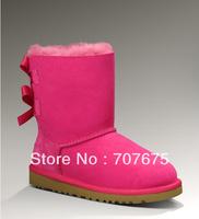 Newest Kid Snow Boots reel sheepskin 3280, Children Snow Boots 1002954 real sheepskin, Free shipping
