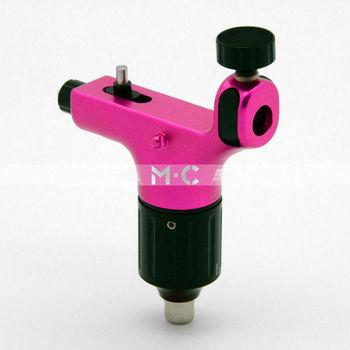 Aircraft Alu Rotary Tattoo Machine Gun  Motor pink - B00015-2 supply