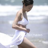 Free Shipping Sexy women/Ladies cover ups for Bikini Popular Wrap Dress Floral Sarong Chiffon Fashion Sarong Wholesale (2049)