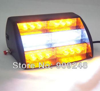 Free Shipping Brand New 12V 30W High Power Car 18 Leds Strobe Flashing Signaling Warning Lights For Hyundai Prado Peugeot U0146