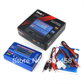 Imax B6 Lipo Battery Balancer Charger 2S-6S Charger with adapter(option 2)+balance charge plug