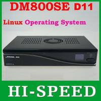 2014 Newest version D11 , Upgrade from D6 DM800HD SE 800SE Satellite receiver 400 MHz processor support the Linux TV API  1pcs