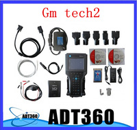Top quality with 5 adaptors new arrive GM TECH2/ gm tech 2, gm scanner with candi ang one card free shipping Without Plastic Box