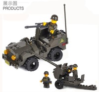 Enlighten Child 5900 Guns SLUBAN Educational Blocks,Building Block Sets,Toy Blocks Plastic Educational building free Shipping