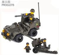 Enlighten Child 5900 Guns SLUBAN Educational Blocks,Building Block Sets,Toy Blocks Plastic Educational building free Shipping