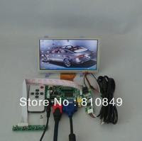 HDMI+VGA+2AV Controller board+6.5inch AT065TN14 800*480 Lcd panel+Touch Screen