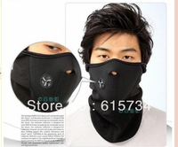 Winter Snow / Ski /Skate/ Cycling/Motor/Sport Warmer Half Face Mask with Bike Motorcycle Ski  Neck Winter Warmer Face Mask Black