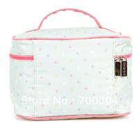 Hot Sale! Stylish Functional Cosmetics Makeup Kit Storage Beauty Organizer Toilet Train Jewelry Cases box bag