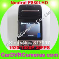 Neutral F880LHD, Full HD Car DVR/Video Recorder 1920*1080@30FPS, H.264, MOV Video Format, Car Camcorder