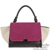 FreeShipping Fashion Europe and the United States Trapeze High Quality Big Ears Bag/Single Shoulder hot  Women's Handbag