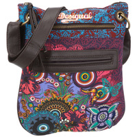 Fashion desigual bag embroidered vintage canvas bag shoulder bag fashion small bag