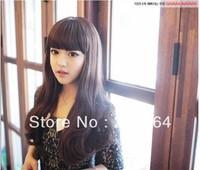 Wig long kinkiness female fluffy bobo pear stubbiness set jiafa bangs cool  Free Shipping