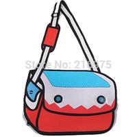 Hot Sale!! Comic messenger bag/ fashion shoulder bag for women/ 5 styles to choose Free Shipping