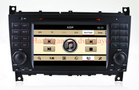 Newest version 2 Din Special for Benz CLK W209 C W203 Car DVD, GPS with Radio Bluetooth iPod DVD multi functions
