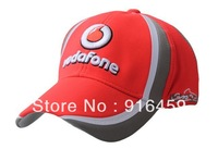 Free shiping McLaren's cap double signature F1 car  sport baseball star   vodafone hat cap
