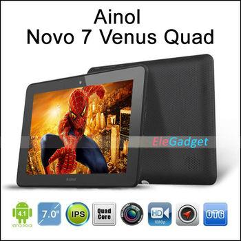 "Ainol Novo 7 MYTH ainol venus Android 4.1.1 7"" Capacitive 1GB RAM 16GB HDD quad CORE +IPS SCREEN+dual camera+1280x800"