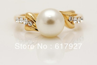 High Quality New Arrival Jewelry beautiful 10k Solid Yellow Gold  Ring  Women Birthday Pretty Jewelry Ring Size7.5 P107Gold Ring