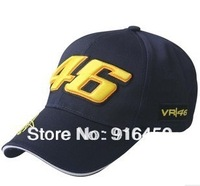 Free shiping Wholesale rossi 46 embroidery baseball cap hat motorcycle racing cap VR46 sport baseball cap
