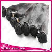 "brazilian straight hair bundles 8""-28"" natural straight brazilian virgin human hair  natural color in stock free shipping"