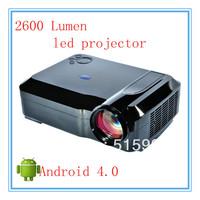 2set /lot wholesale  eco-friendly design digital home cinema system led projector  just for USD902