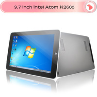 "9.7"" Intel Atom N2600 Dual Core phone call Tablet PC Win7/win8 1.6GHz Wifi 3G bluetooth Webcam  2G 32G"