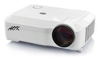 RK3066, Quad  core 1.8GHz ,Quad Core Cortex A9  Android 4.2 Wifi Projector Led TV 3D Full HD Projectors 3800lumens projector