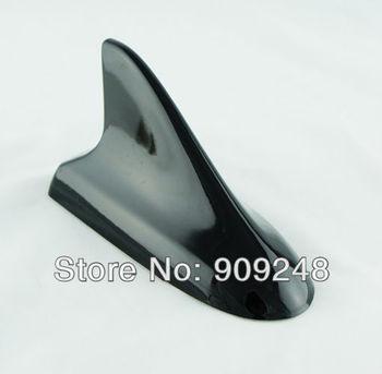 Free Shipping Car Auto Shark Fin Antenna for VwW for Buick Style Dummy Decorative Body Parts Radio Antennas Black  U0135