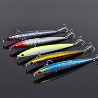 40pcs/lot  fishing lures, assorted colors