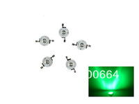 10pcs/lot 1W Green led beads, Taiwan KonWin chip led green high power lamp beads for LED DIY freeshipping