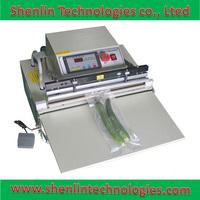 Extenrior package bag vacuum shrinking sealing machine air flush sealer tools equipment for packaging saving foods VS450 8mm