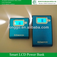 11200mAh Smart mobile power power ,aluminum alloy shell(806),for all kinds of mobile phone