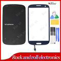 Original Front Touch glass Lens Screen digitizer For Samsung Galaxy S3 SIII i9300 Pebble Blue Tools + adhesive Free shipping