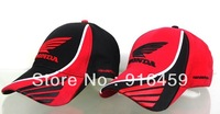 Free shiping HONDA motorcycle duck tongue baseball F1 car racing sports leisure adjustable baseball cap