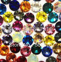 3.1mm Rhinestone Nail Decoration ss12 Mixed Color 1440pcs/Lot Nail Sticker HB924-S12