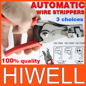 Automatic wire Strippers 3 can be selected stripping range 0.5-6mm hs-700a/hs-700b/hs-700n free shipping