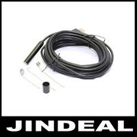 Hook/Mirror/Magnet 9mm Waterproof 7M USB Snake Inspection Endoscope Tube Camera