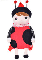 49x25CM,1PC,Brand Metoo,Plush Doll Girl's Backpack For Children Gifts,School Bag,Drop Free Shipping