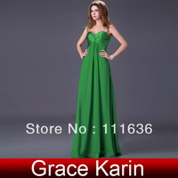 2013 Dress Grace Karin bandage dress Strapless Beads Prom Party dresses, Evening dress Size 2~16 CL4101