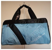 Leisure bags,sport bag, fabric, skyblue, Size:44 x 30cm,5 different colors,attach a shoulder straps,two function,Free shipping