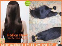 Queen Hair Factory Price 100% Human Hair Peruvian Straight Hair 3pcs/lot #1,1b,2#,4# 12-32inch Hair Extension DHL Free Shipping
