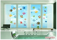 Fish & Sea Design Bath Room Finding Nemo Wall Stickers Kids Room Wall Decals Decor Bathroom sticker